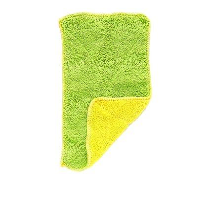 Jeffyo - Toalla de microfibra para limpieza (1 unidad, doble capa, 25 x