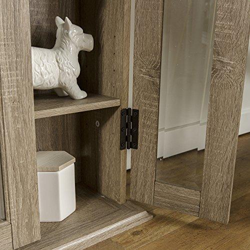 WE Furniture 41'' Wood Media Cabinet - Driftwood by WE Furniture (Image #3)