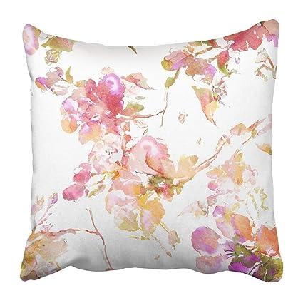 Amazon.com: Estuche de almohada de flores coloridas con ...