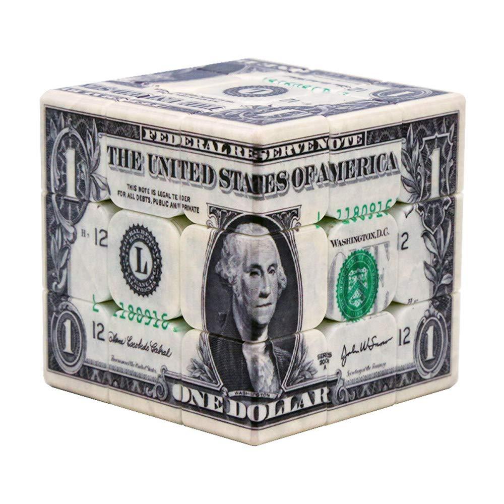 Zauberwü rfel intellektuelle Entwicklung UV-Druck Persö nlichkeit US-Gold dritter Ordnung Rubiks Wü rfel Puzzle Geschenk Spielzeug ABS Umweltmaterial Best Ning