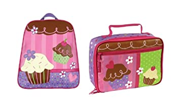 Stephen Joseph Go Go Backpack WITH Lunchbox