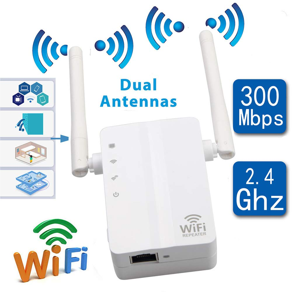 WiFi Repetidor 300 M WiFi Amplificador De Señal Wireless Extensor De Señal WiFi Enhancer: Amazon.es: Hogar