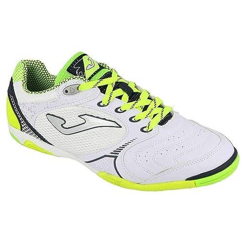 SPORTIME2 - Zapatillas de fútbol Sala de Sintético para Hombre Blanco Bianco: Amazon.es: Zapatos y complementos