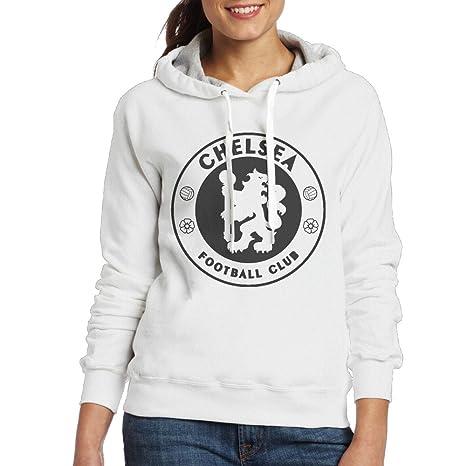 newest 472c4 2428c Amazon.com: MUMB Women's Sweatshirt Chelsea Football Club ...