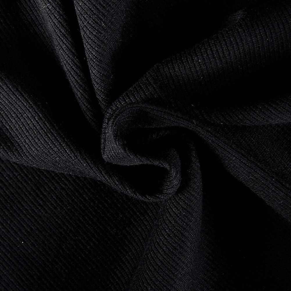 Artfish Women V Neck Ribbed Bodysuits Pyjamas Onsies Romper