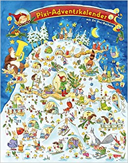 Pixi Adventskalender: Mit 24 Pixi Büchern: Amazon.co.uk: 9783551041593:  Books