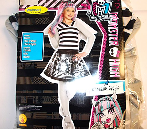 Monster High Rochelle Goyle Child Costume Wings M 8-10 NIP