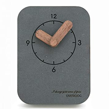 ZXX-wr Péndulo De Sobremesa, Mudo Casero Simple, Reloj De Péndulo del Reloj del Dormitorio 10 Cm: Amazon.es: Hogar