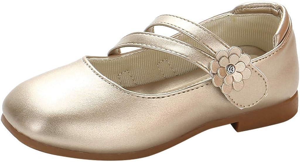 YWLINK Zapatos para NiñOs,NiñAs De Los NiñOs Flores Dulces Zapatos PequeñOs Zapatos De Princesa Zapatos Solos Zapatos Frescos Zapatos De Princesa Zapatos De Baile