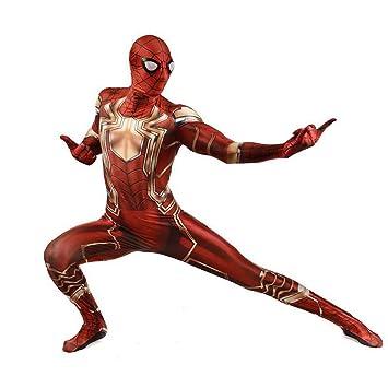 ZYFDFZ Traje de Cosplay de Spiderman Traje Elástico de ...