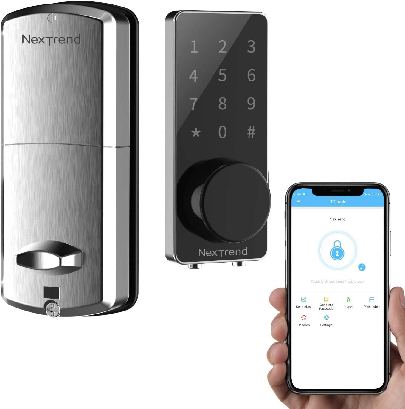 Amazon coupon code for Smart Electronic Door Lock with Bluetooth Keyless