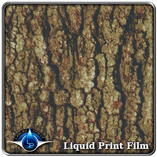 "Hydrographics Film - Water Transfer Printing Film - Hydro Dipping - Film measurement is: 20"" X 10' feet roll RC-782 - Ultimate Camo Tree Bark Liquid Print"
