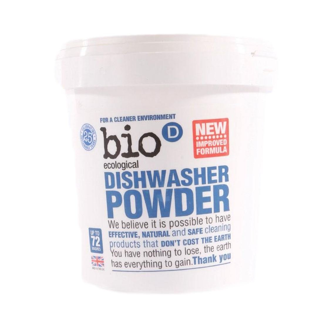 (4 PACK) - Bio-D - Dishwasher Powder | 720g | 4 PACK BUNDLE BIO D