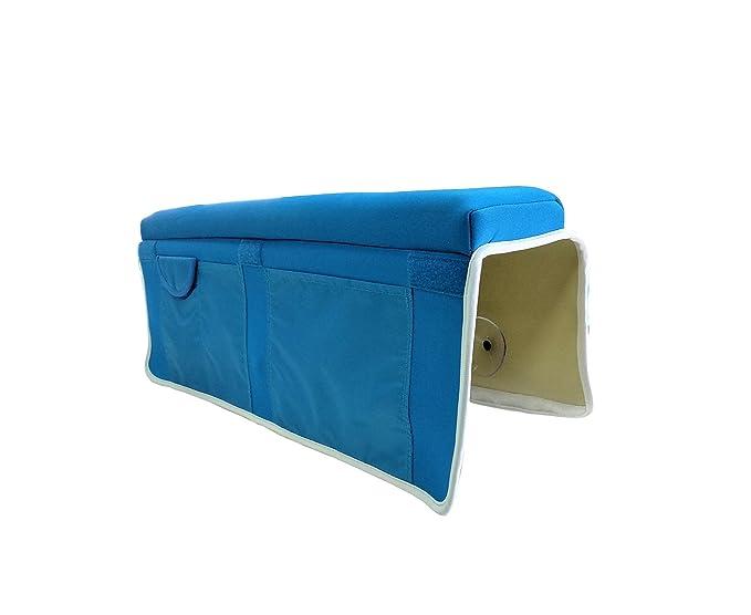 Alfombra salva rodillas + Almohadilla cojín baño para codos | Alfombrilla bebé y reposabrazos acolchado antideslizante e impermeable | Colchoneta ...