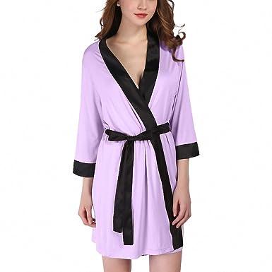 dfc26c66f476 Long Nightgown Pajamas Autumn Coat Bathrobe Dressing Gowns For Women ...