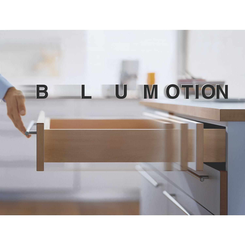 BLUM Tandem Plus Blumotion gu/ías 550 horas 500 mm incluye acomplamientos