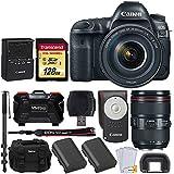 Canon EOS 5D Mark IV DSLR Camera- Professional Accessory Bundle (Professional Memory Bundle)