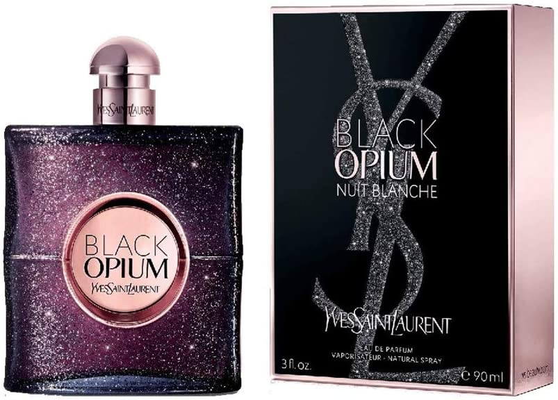 Yves Saint Laurent Black Opium Nuit Blanche Agua de Perfume - 90 ml