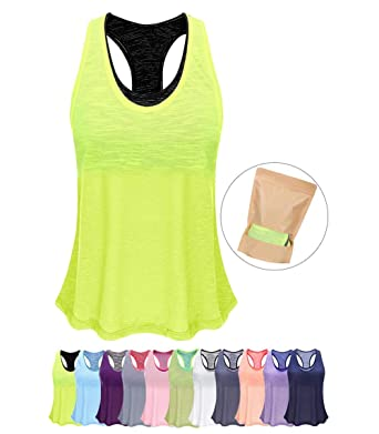 c475d454b0c25 Image Unavailable. Image not available for. Color  Women Tank Top with Built  in Bra