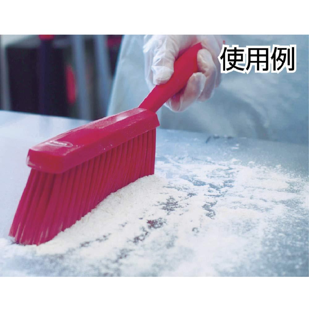 14 Vikan 45872 Bench Brush Polypropylene Polyester Soft Bristle Green