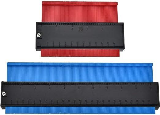 10 Inch Plastic Shape Contour Copy Duplicator Circular Frame Profile Gauge Tools