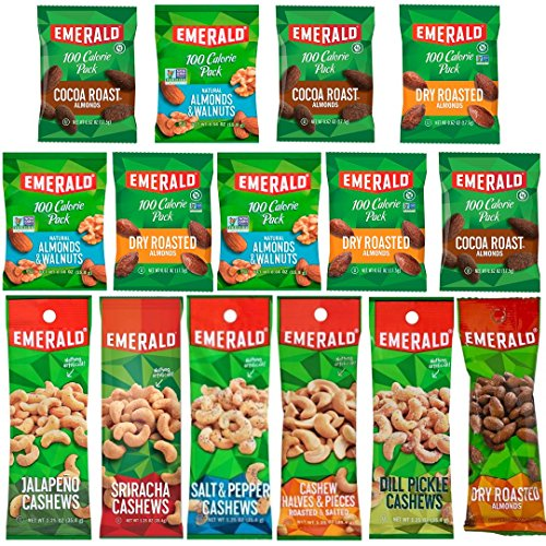 Emerald Snacks Flavored Variety Cashews