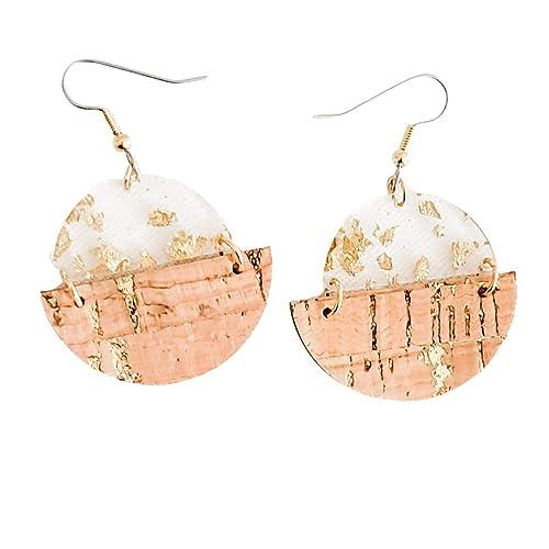 Modern Geometric Handmade Resin Earrings