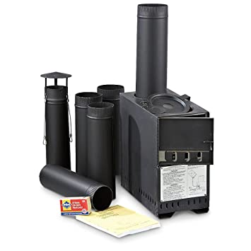 Official US Military Hunter Tent C&ing Arctic Portable Space Heater Gas Coal Wood Stove  sc 1 st  Amazon.com & Amazon.com : Official US Military Hunter Tent Camping Arctic ...