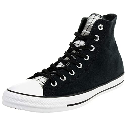 ed312b0d5d64 Converse Chuck Taylor All Star Plaid High Top 162398C  Amazon.co.uk ...