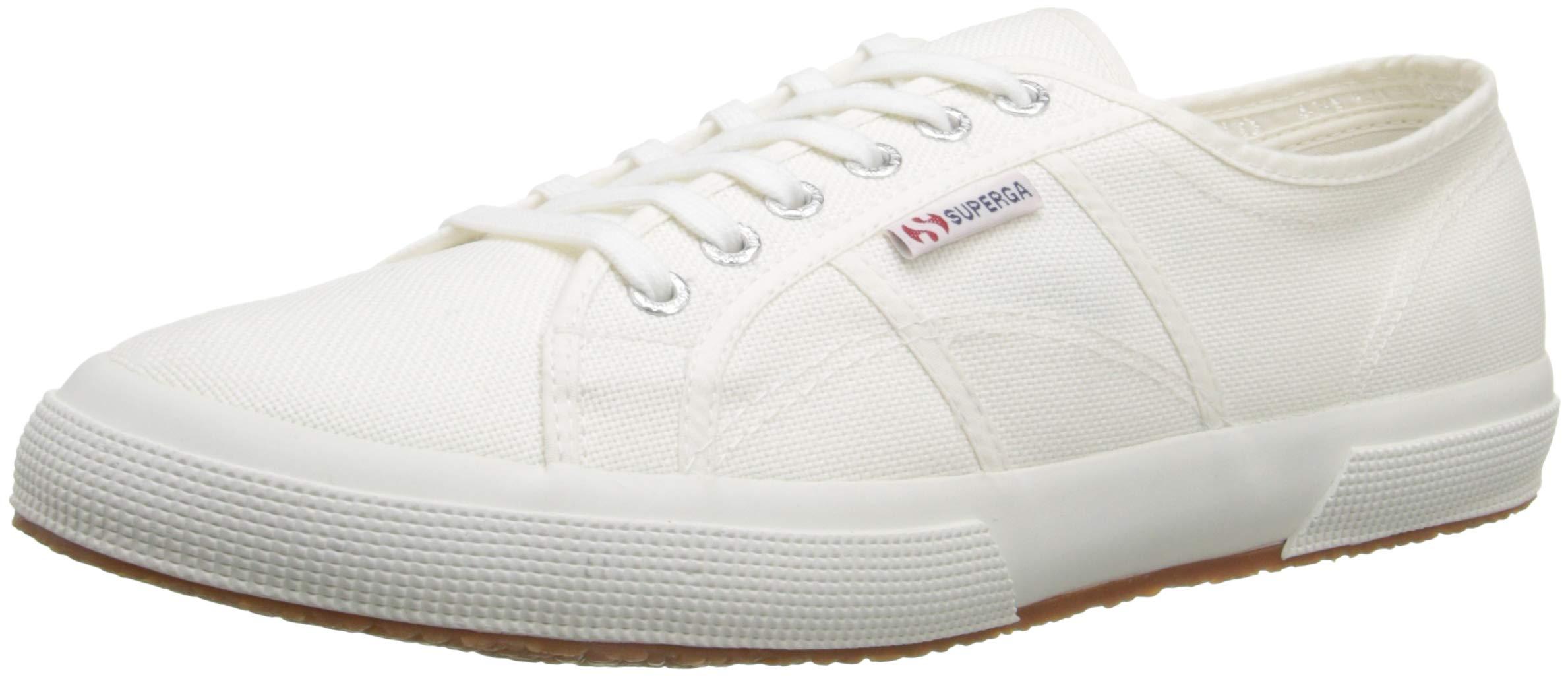 Superga Unisex 2750 Cotu Classic Sneaker,White,39 EU (Women's 8 M US/Men's 6.5 M US) by Superga