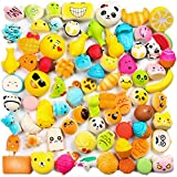WATINC Random 30 Pcs Squishies Cream Scented Slow Rising Kawaii Simulation Lovely Toy Toy Medium Mini Soft Food Phone Straps