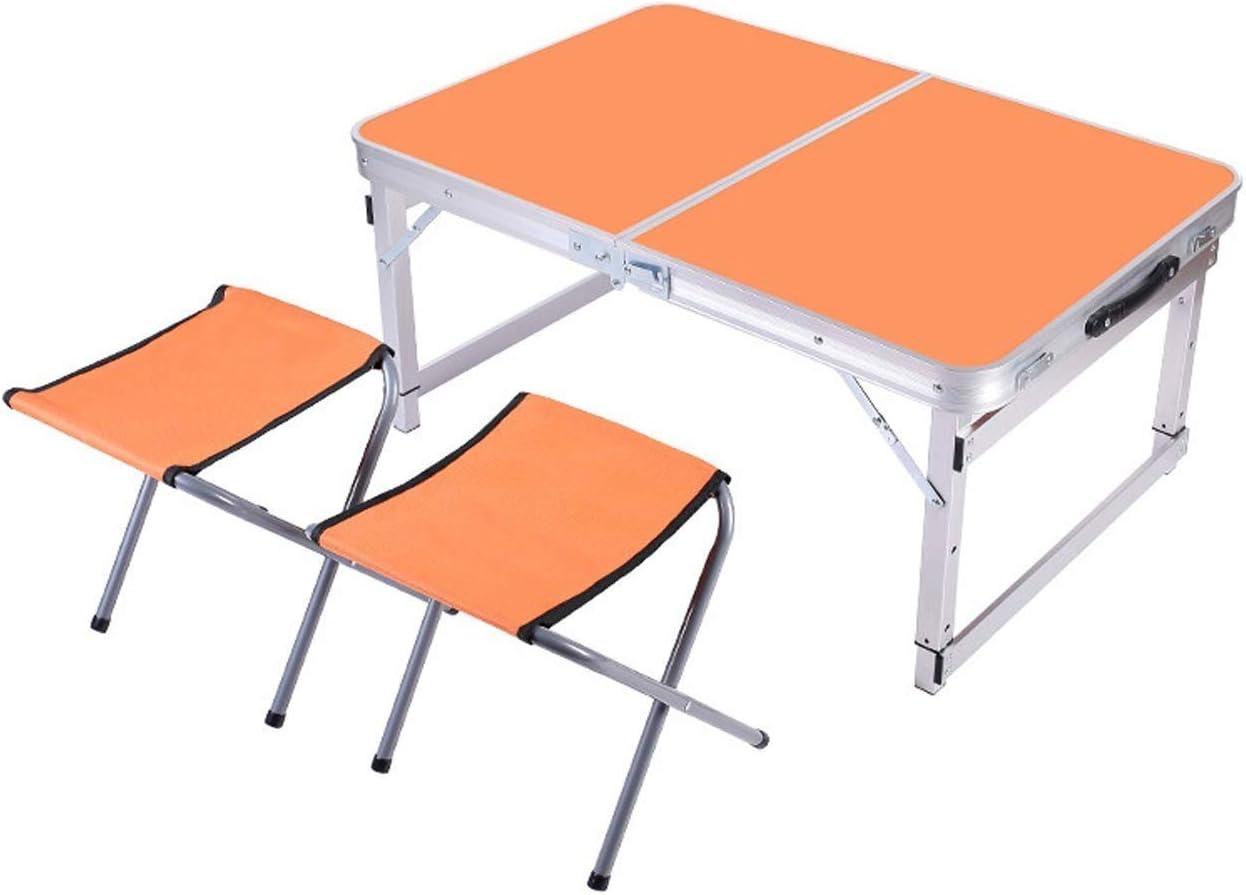 Mesa Plegable -GR Juego de mesas Plegables Al Aire Libre Puestos portátiles Picnic Mesa Plegable Sencilla Mesa de Comedor y sillas Plegables, Estilo Opcional Mesa Plegable Portatil: Amazon.es: Hogar