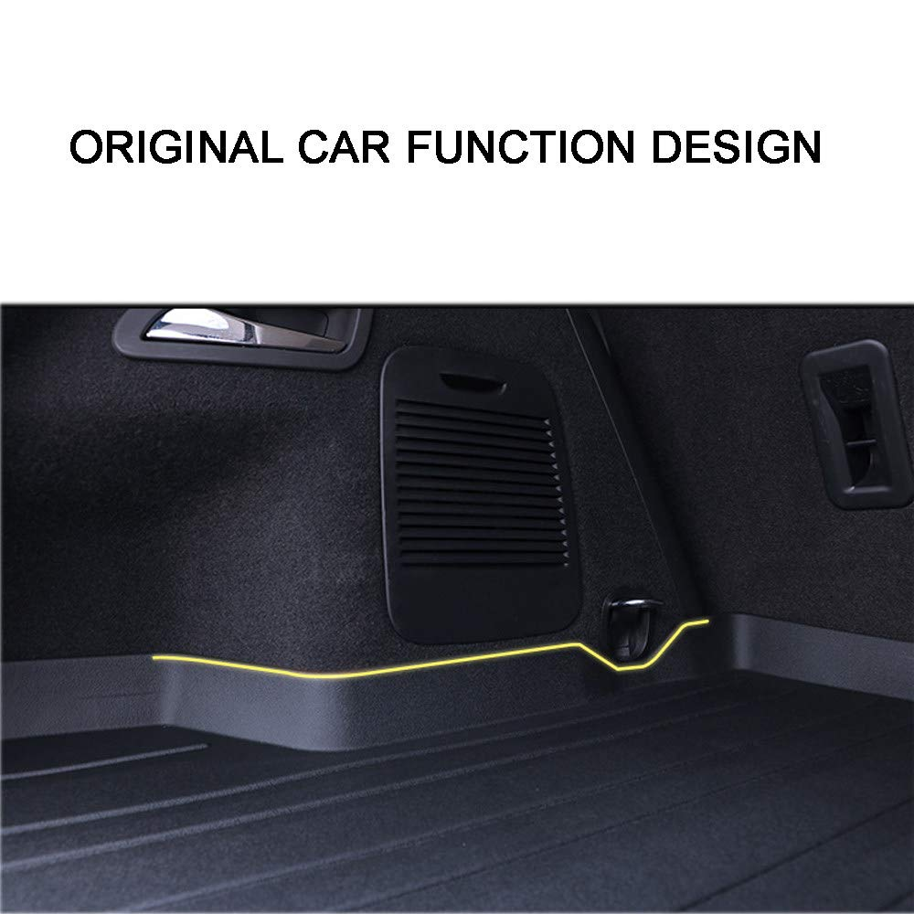 Inodore Appositamente Progettato,NewXC60 MAOMAOQUEENss Antiscivolo Trunk Mat Floor per Volvo XC60 // XC90 // S60L // V90CC // V40 // S90,Tappetino in Gomma per Bagagliaio Baule,Resistente 18-19models