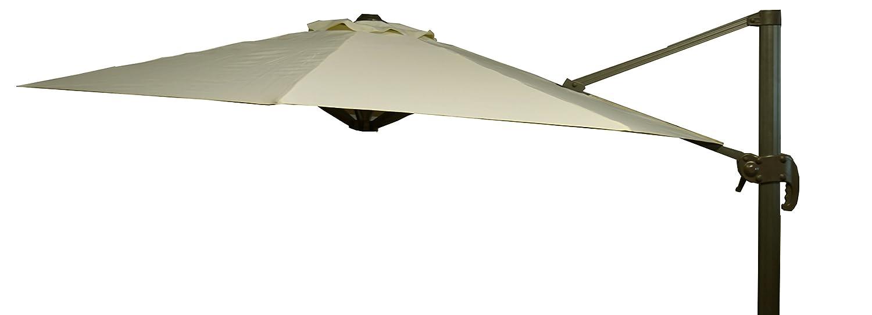 beo Sonnenschirme wasserabweisend ohne Standfuß Sonnenschutz, rund, Durchmesser 300 cm, beige