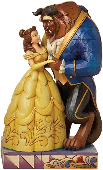 Enesco Disney Traditions Designed by Jim Shore from Beauty and theBeast Figurine 6.25 in