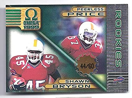 PEERLESS PRICE SHAWN BRYSON 1999 Pacific Omega 32 Premiere Date Parallel RC Rookie Card Numbered