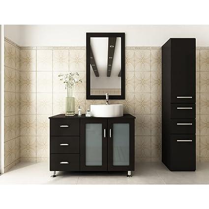 Charmant JWH Living Lune 39 In. Single Bathroom Vanity