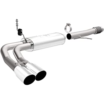 Magnaflow Cat Back Exhaust >> Magnaflow 15270 Performance Cat Back Exhaust System For Chevy Silverado Crew Extended Cab V8 5 3l