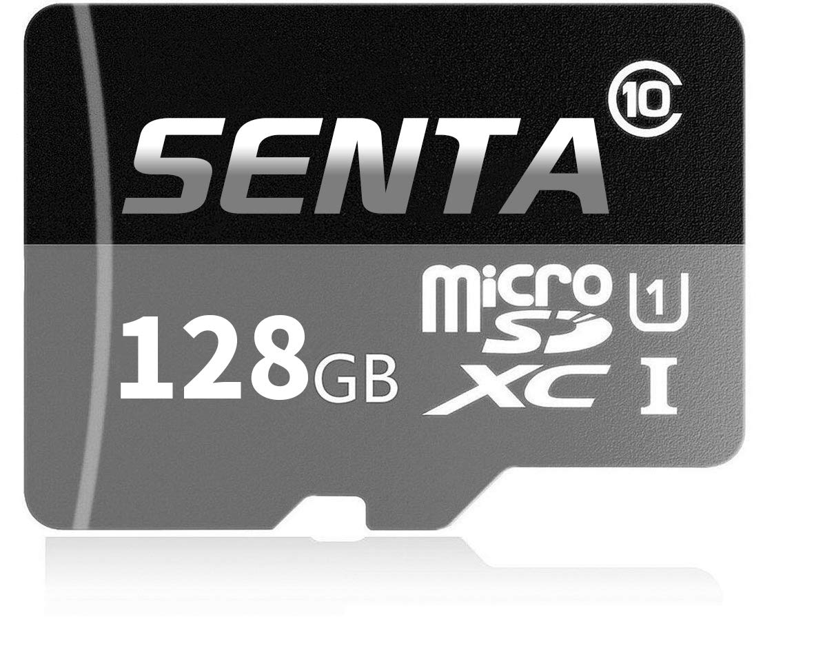 Senta 128GB Micro SD Card High Speed Class 10 Micro SD SDXC Card with Adapter for Android Smartphones, Tablets