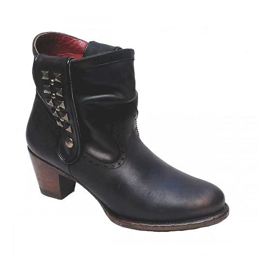 Silverio Lima - Botas de cuero para hombre: Amazon.es: Zapatos y complementos