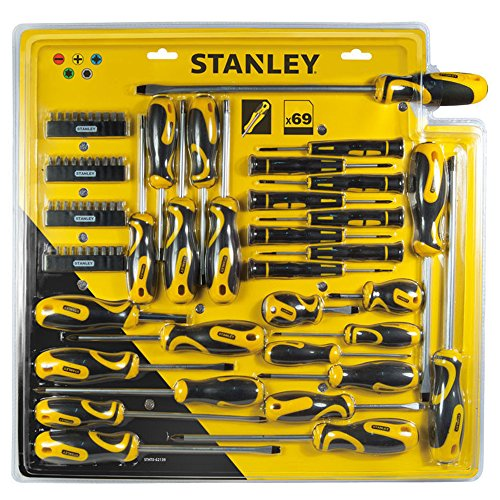 Stanley-62139Spiel von 69Schraubendreher und Bits