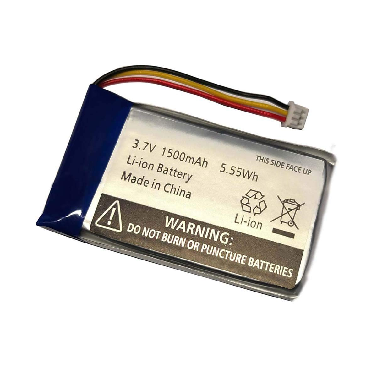 1500mAh Replacement Li-ion Battery for Infant Optics DXR-8 Video Baby Monitors