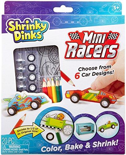 Race Car Craft (Shrinky Dinks Mini Racers Activity Set)