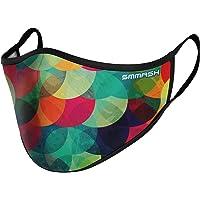 SMMASH Gezichtsmasker, Herbruikbaar, Hoogwaardig Gezichtsmasker Wasbaar, Stofmaskers, Multifunctioneel…