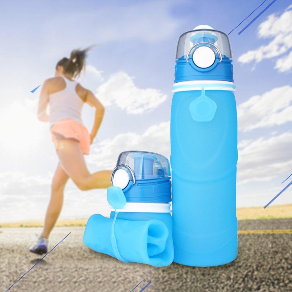 Amazon.com: od-sport 25 oz botella de agua plegable Copa ...