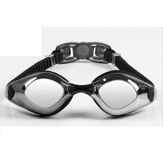 Galvanica occhiali di protezione di nuoto anti-fog occhiali confortevole corsa-tipo di vetro ad alta definizione di nuoto degli uomini e donne , d