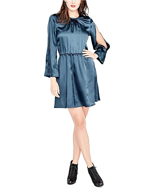 71bebe0d5186dd RACHEL Rachel Roy Womens Julia Split Sleeves Above Knee Party Dress at  Amazon Women s Clothing store