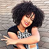 YIROO Natural Synthetic Curly Wig for Women, Fashion Cosplay...
