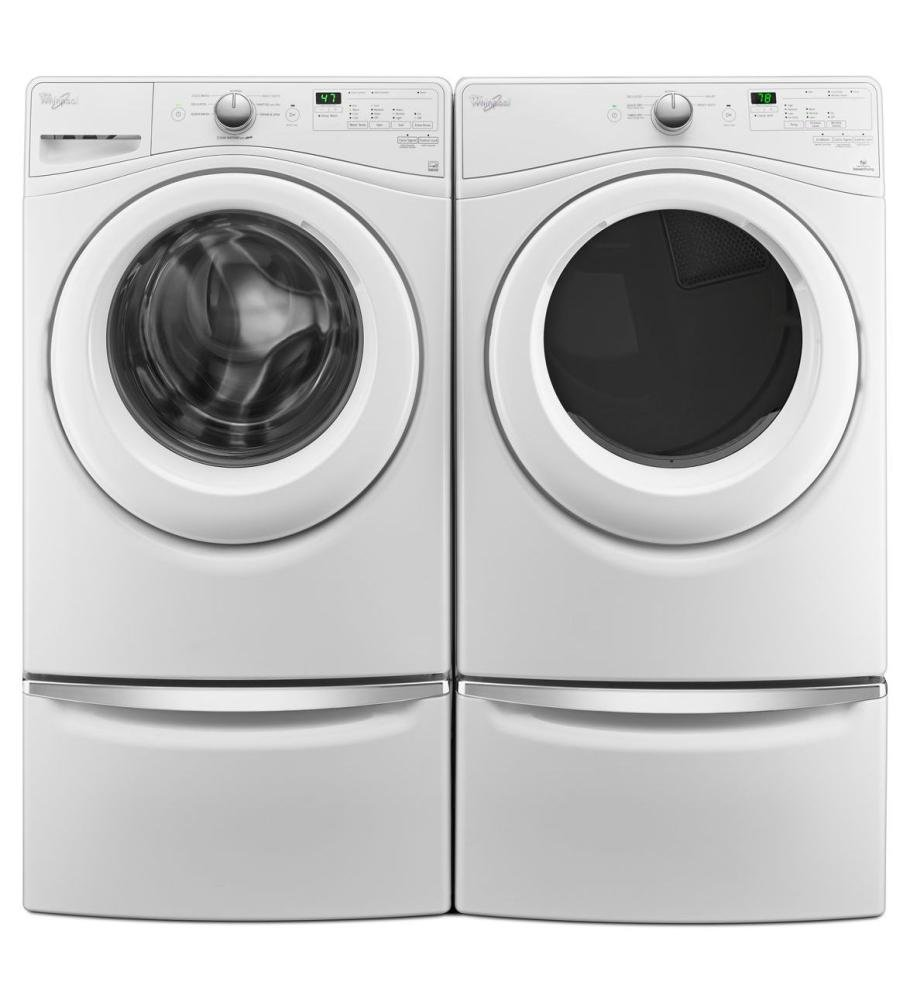 Amazon.com: WHIRLPOOL WFW75HEFW 4.5 cu. ft. Front Load Washer with ...