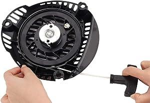 Kuupo XT675 Recoil Starter Assembly 14 165 20S 1416520S Push Mower Compatiable with Kohler XT650 XT675 XT775 XT800 XT6.5 XT6.75 Toro 6.5 6.75 7.75 8.0 149cc 173cc Engine Toro Lawn Mower Pull Cord